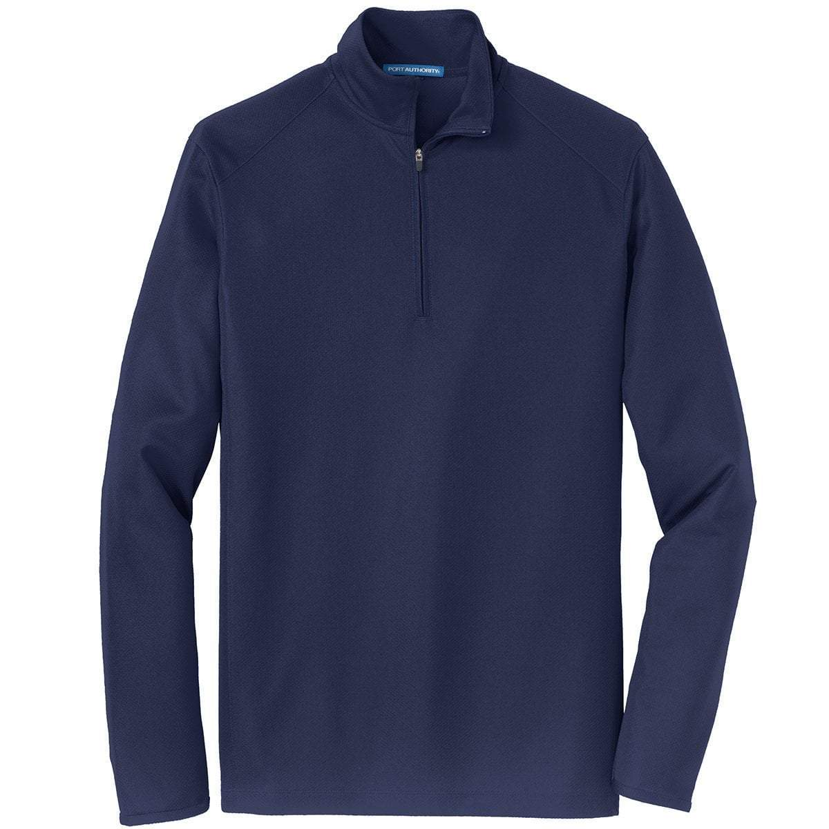 Port Authority 1/4 Zip Pullovers Navy / XS K806 | Port Authority® Unisex/Mens Pinpoint Mesh 1/2-Zip