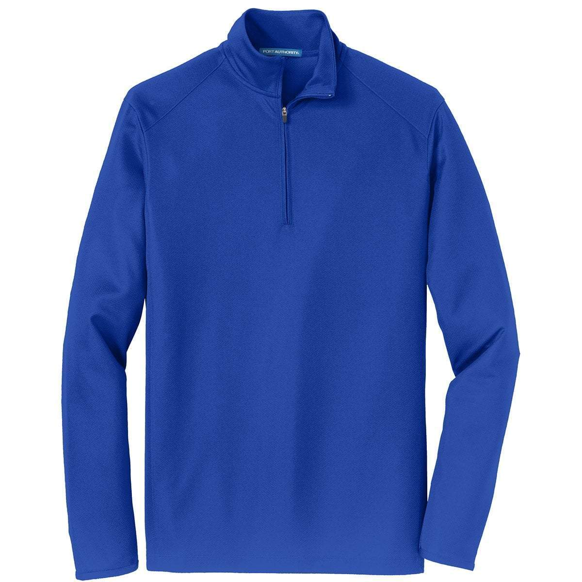 Port Authority 1/4 Zip Pullovers Royal / XS K806 | Port Authority® Unisex/Mens Pinpoint Mesh 1/2-Zip
