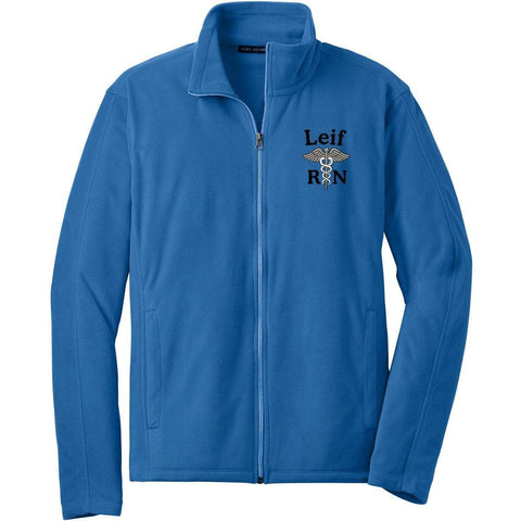 Port Authority jackets Lt Royal / Small F223 | Unisex Microfleece Jacket by Port Authority