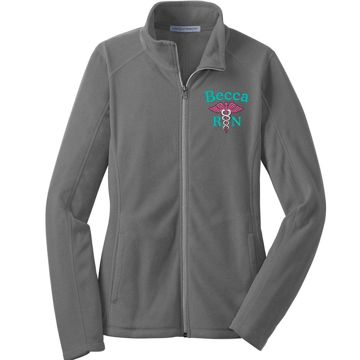 Port Authority jackets Pearl Grey / XS L223 | Ladies Microfleece Jacket | Port Authority