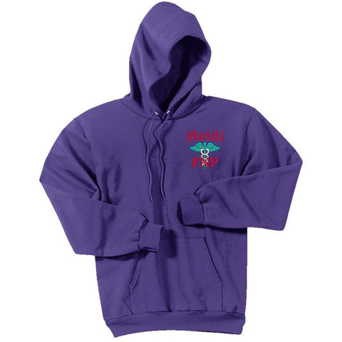 Port & Company sweatshirt Purple / Small PC78H  | Port & Company® -  Unisex Core Fleece Pullover Hooded Sweatshirt