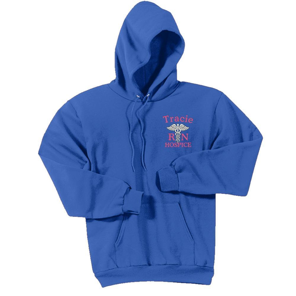 Port & Company sweatshirt Royal / Small PC78H  | Port & Company® -  Unisex Core Fleece Pullover Hooded Sweatshirt
