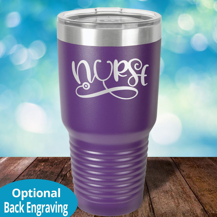 Nurse Personalized Laser Etched Tumbler