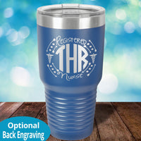 Personalized Laser Etched Tumbler |   RN Monogram