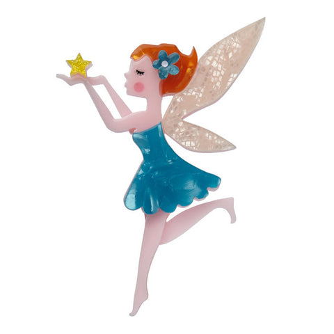 Erstwilder A Fairy Wish Brooch Fairytale Bad Betty Couture Australia Online Shopping store Pinup girl Clothing Rockabilly Retro Vintage Inspired