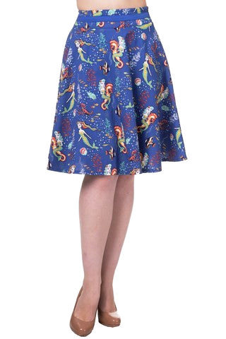 Banned Apparel Made of Wonder Midi Skirt - Bad Betty Couture Australia Online Shopping store Pinup girl Rockabilly Retro