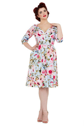 Voodoo Vixen Rosie Dress - Bad Betty Couture Australia Online Shopping store Pinup girl Rockabilly Retro
