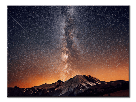 """Night Sky"", 1 Panel Canvas Wall Art In L And XL Sizes"