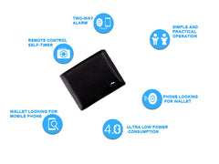 Anti Loss/Anti Theft, Bluetooth(TM), Smart Leather Wallet