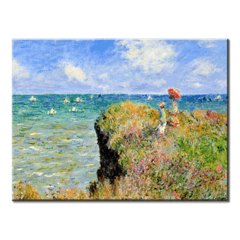 """Monet Painting 01"" 1 Panel Canvas Wall Art In L And XL Sizes"