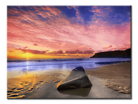 """A View Of The Sea"", 1 Panel Canvas Wall Art In L And XL Sizes"