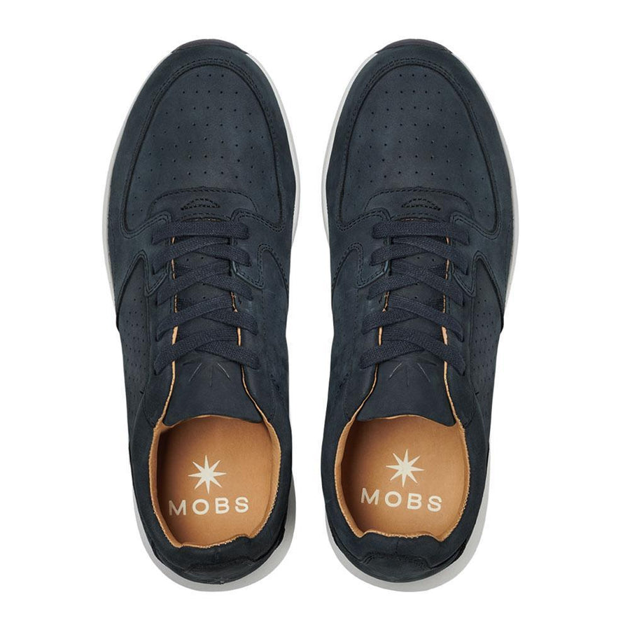 Grid Premier // Marine/Nubuck // Men - MOBS Shoes