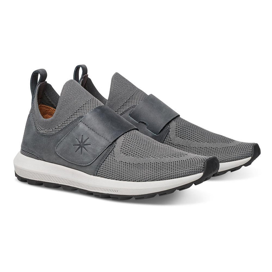 Men's MOBS Knit Grid Set TR Shoe Bloc Grey/Nubuck Angle View
