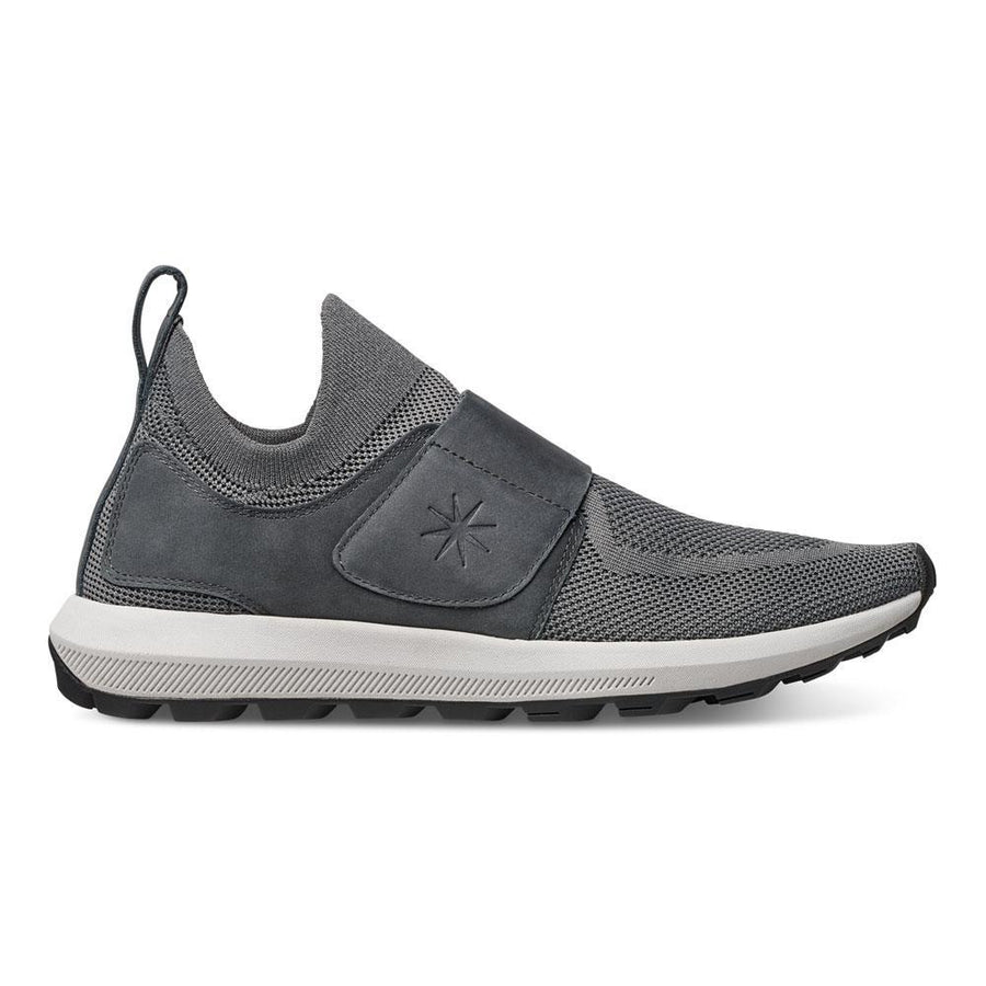 Men's MOBS Knit Grid Set TR Shoe Bloc Grey/Nubuck Lateral View