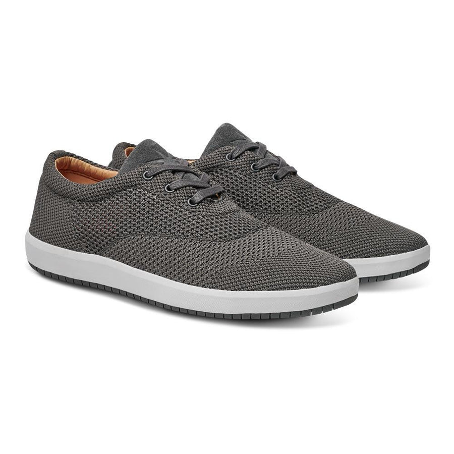 Men's MOBS Knit Low Shoe Rue Bloc Grey/Nubuck Angle View