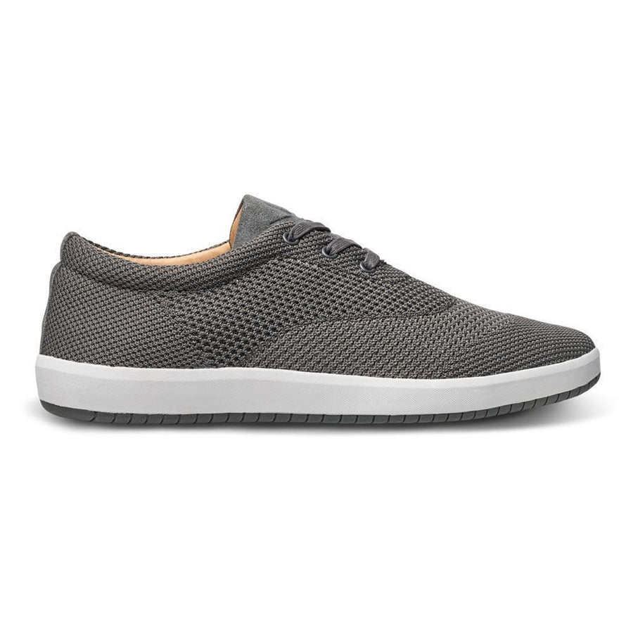 Men's MOBS Knit Low Shoe Rue Bloc Grey/Nubuck Side View