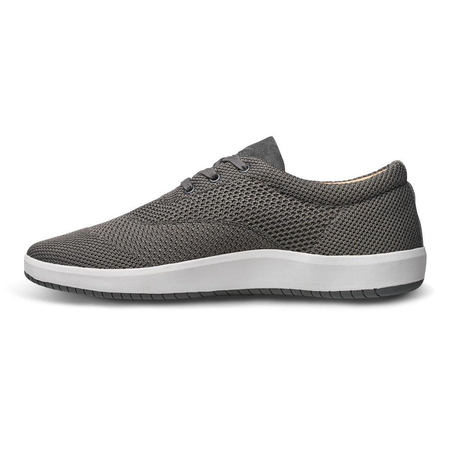 Men's MOBS Knit Low Shoe Rue Bloc Grey/Nubuck Inside View