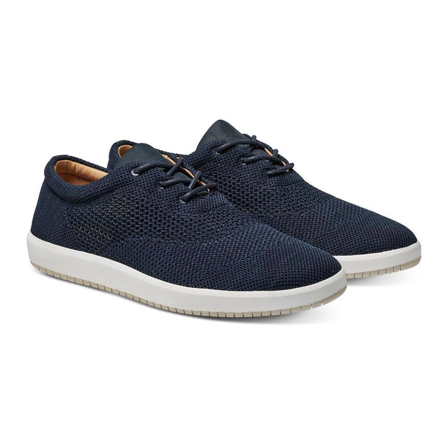 Men's MOBS Knit Low Shoe Rue Marine Angle View
