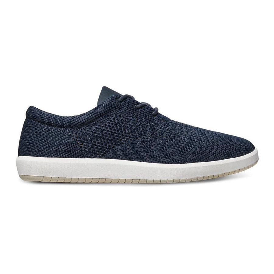 Men's MOBS Knit Low Shoe Rue Marine Lateral View