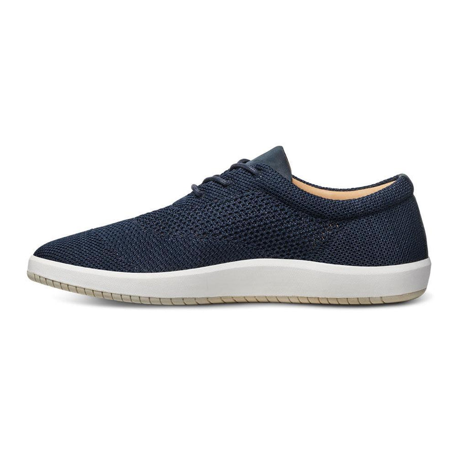 Men's MOBS Knit Low Shoe Rue Marine Medial View