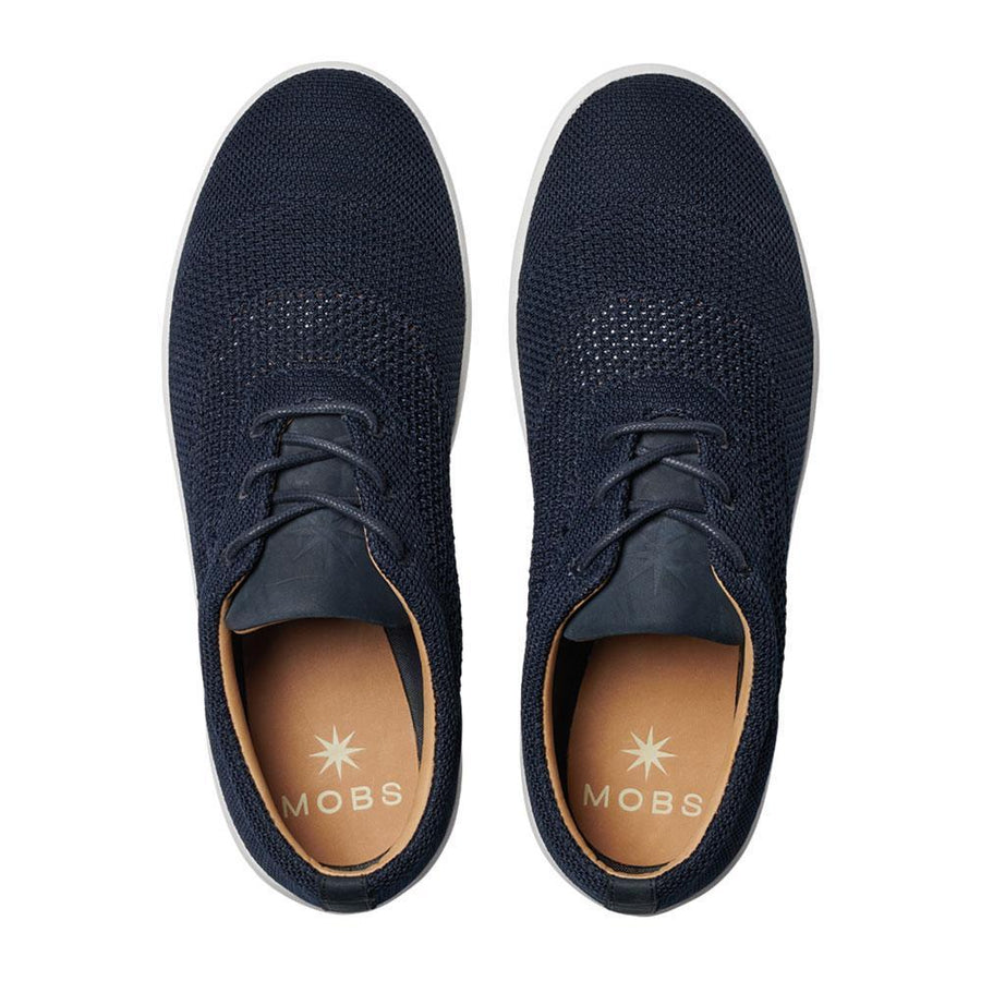 Men's MOBS Knit Low Shoe Rue Marine Top View