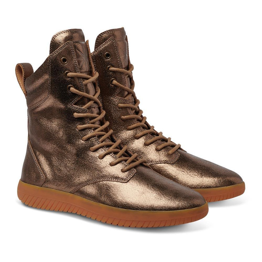 Tread Boot // Bronze/Crackle Leather // Women / 50% OFF - MOBS Shoes