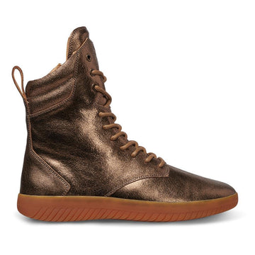 Tread Boot // Bronze/Crackle Leather // Women - MOBS Shoes