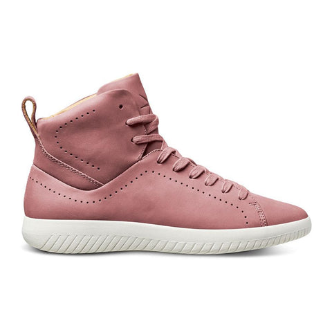Men's MOBS Tread High Shoe Dusty Rose/Nubuck Leather Lateral View