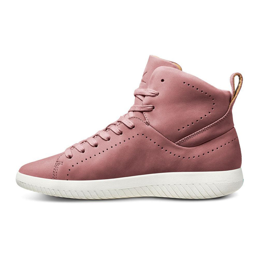 Men's MOBS Tread High Shoe Dusty Rose/Nubuck Leather Medial View
