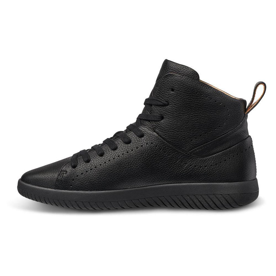 Tread High // Onyx/Tumbled Leather // Men - MOBS Shoes