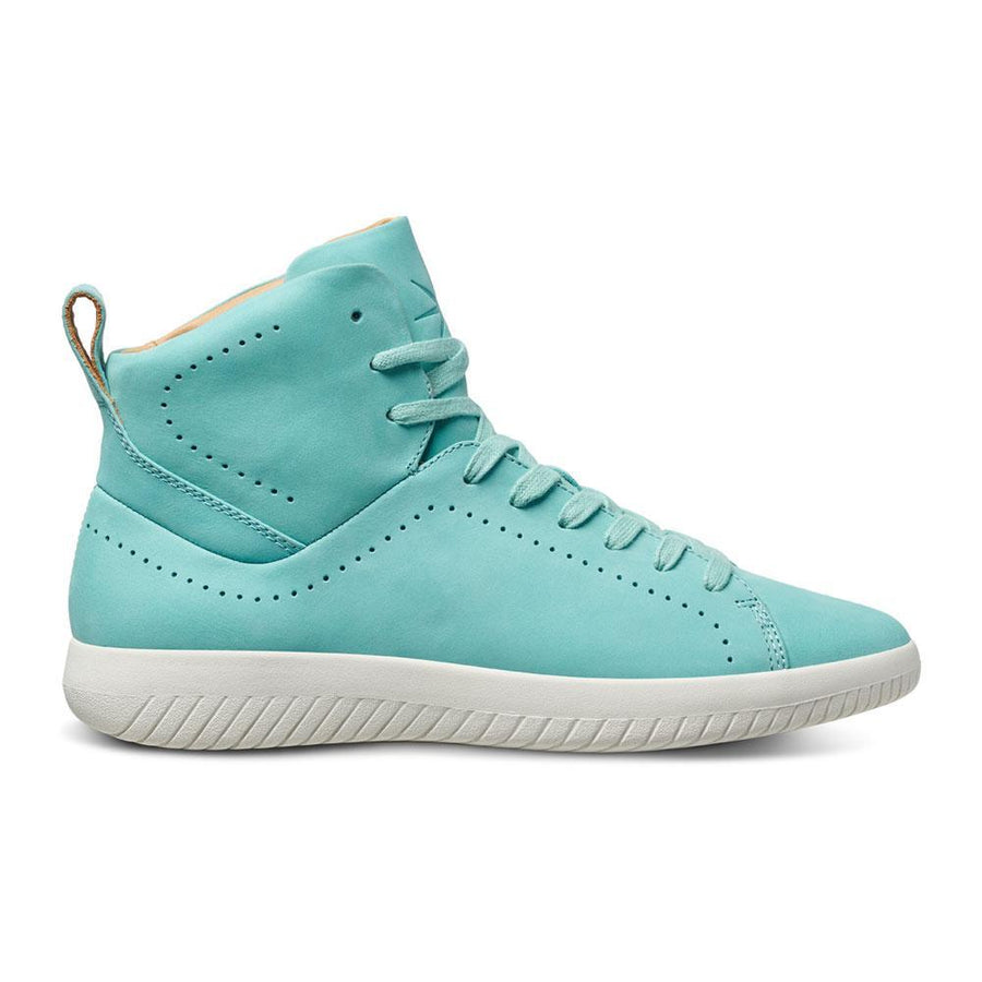 Tread High // Turquoise/Nubuck // Women - MOBS Shoes