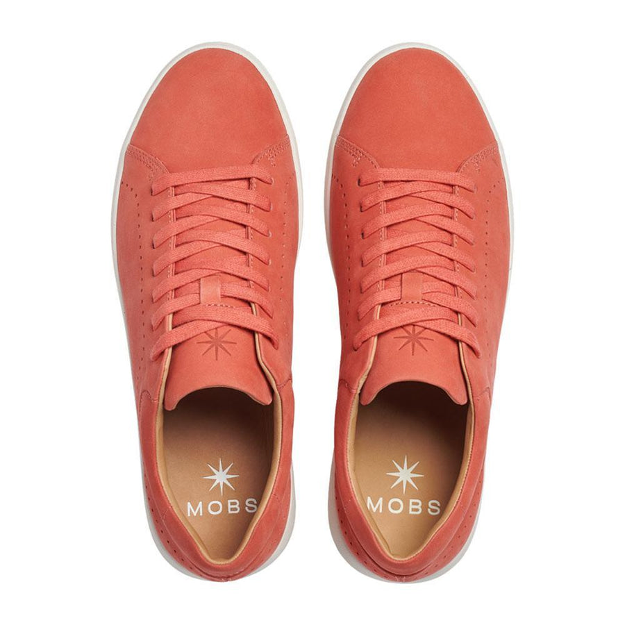 Tread Low // Coral/Nubuck // Men - MOBS Shoes