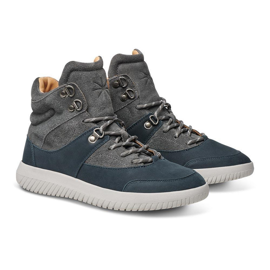 MOBS Tread Maquis Shoe Bloc Grey/Suede/Nubuck Angle View