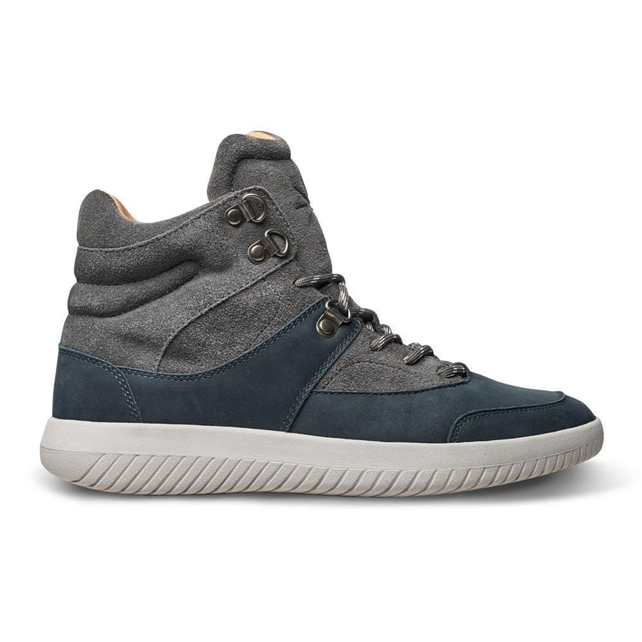 MOBS Tread Maquis Shoe Bloc Grey/Suede/Nubuck Side View
