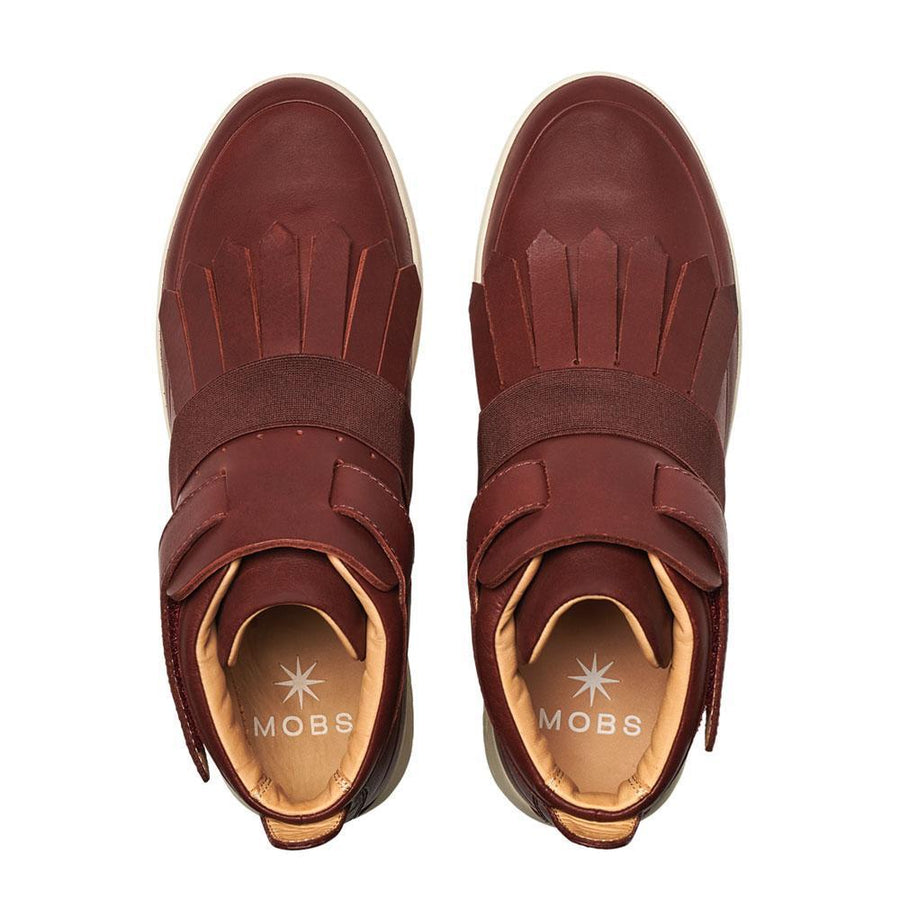 Tread Moc // Bordeaux/Nomad Leather // Men - MOBS Shoes