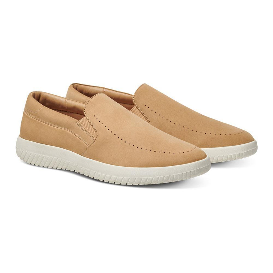 Women's MOBS Tread Slip On Shoe Dusty Beige/Nubuck Angle View