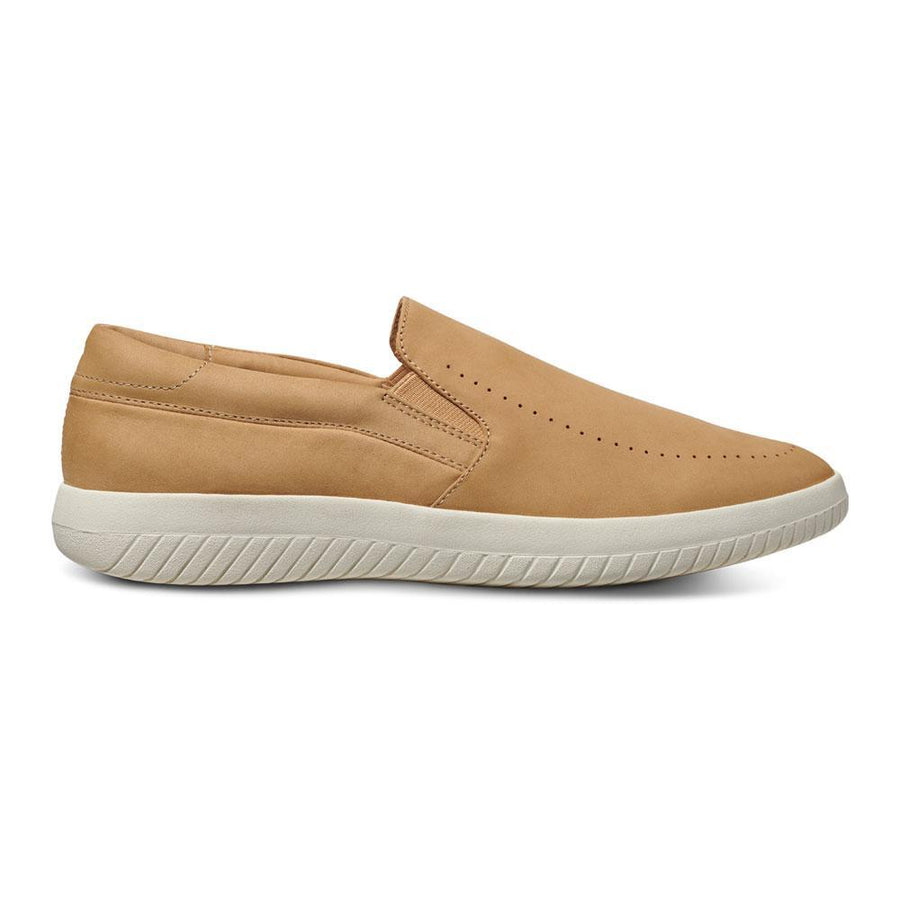 Men's MOBS Tread Slip On Shoe Dusty Beige/Nubuck Lateral View
