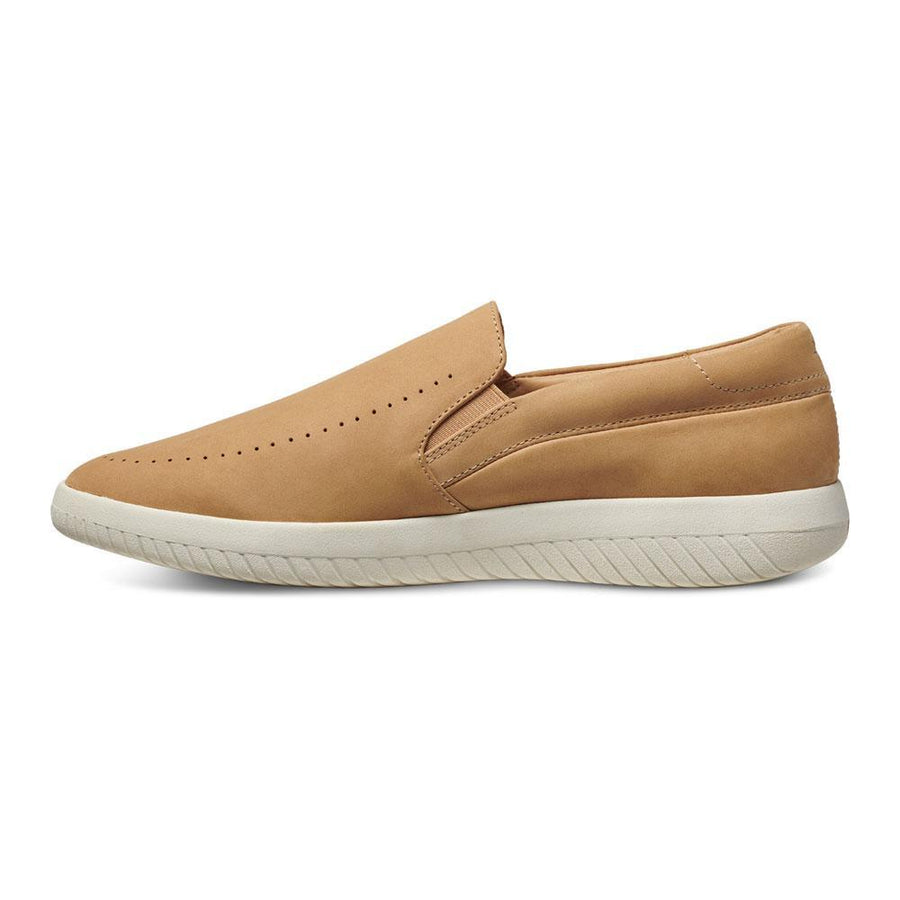 Women's MOBS Tread Slip On Shoe Dusty Beige/Nubuck Medial View