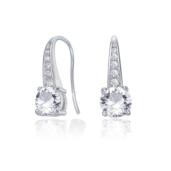 Crystal Lyrical Earrings