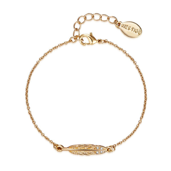 Birds of a Feather Bracelet In Gold