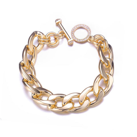 Orion Golden Chain Bracelet