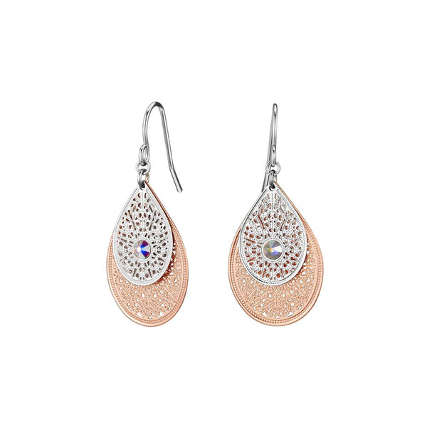Rose Gold Trixie Earrings