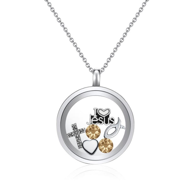 Blessings Floating Charm Necklace