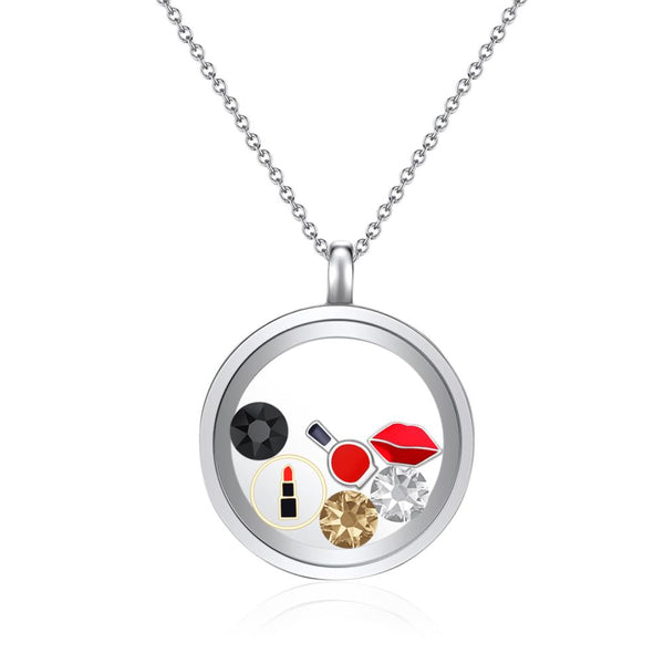 Diva Floating Charm Necklace