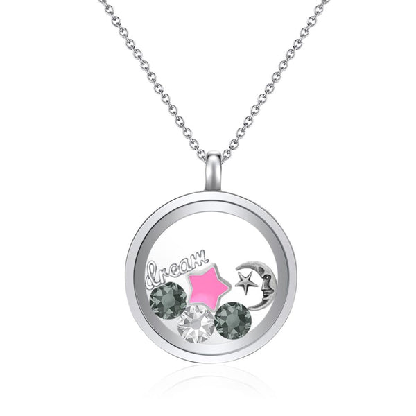 Sweet Dreams Floating Charm Necklace