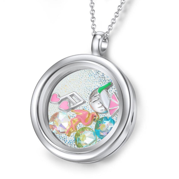 Paradise Island Floating Charm Necklace