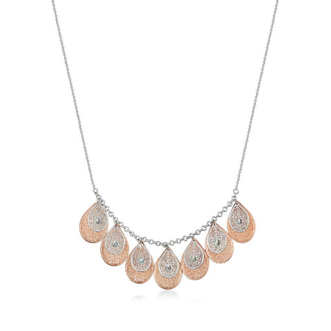 Rose Gold Trixie Necklace