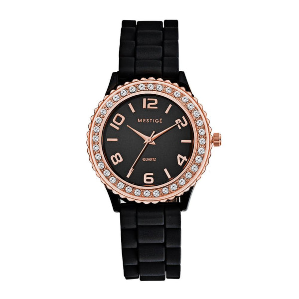 Rose Silicone Watch