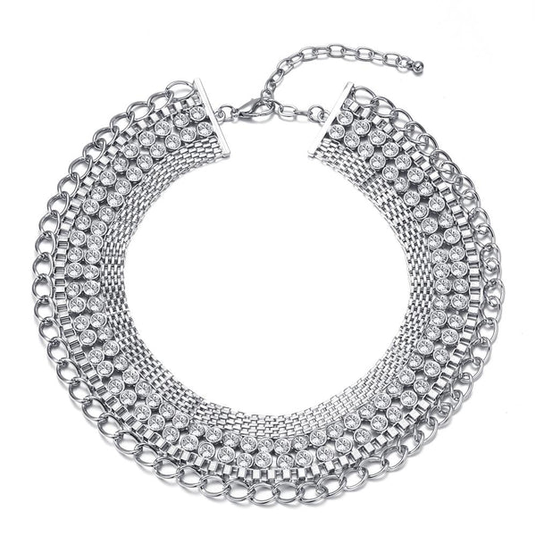 Moonlit Romance Statement Necklace