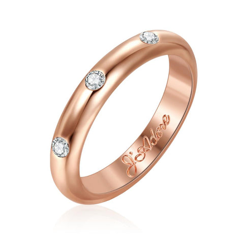 J'Adore Rose Gold Ring